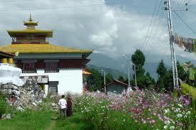 Tashiding-village